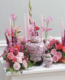 Cremation Urn Design- Pink